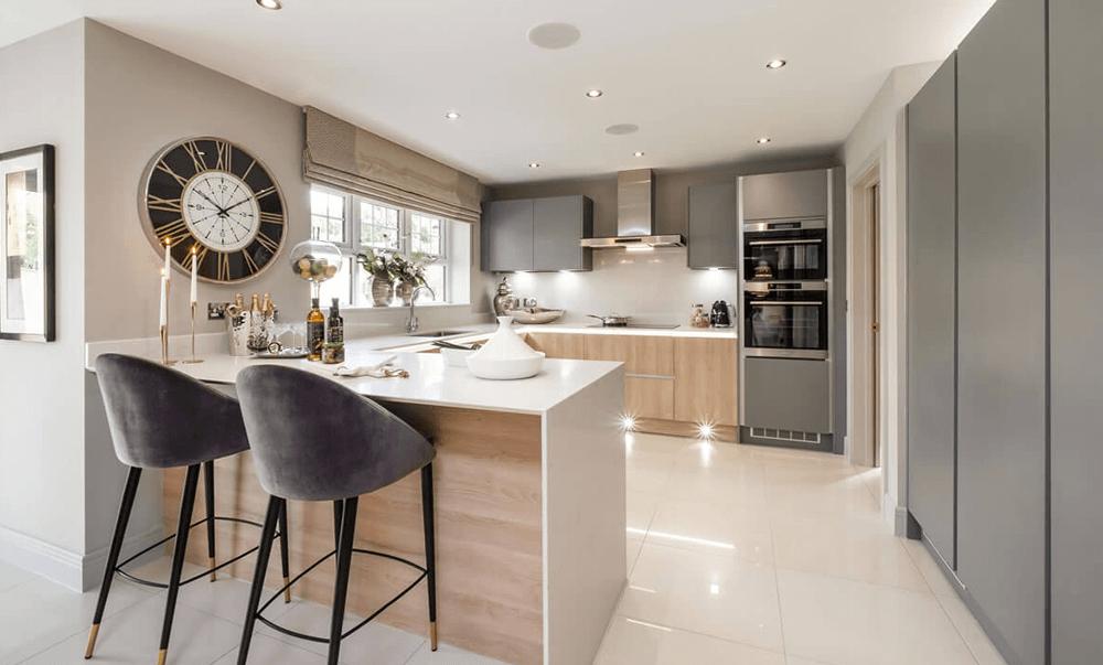Typical Duchy Homes kitchen