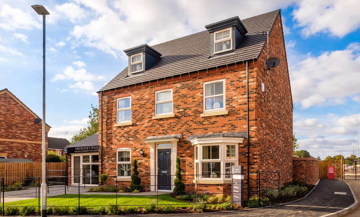 Cricketers' Walk Show Home