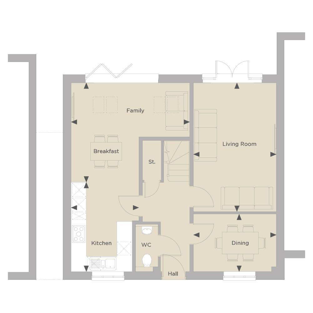 The Draycott Ground Floor