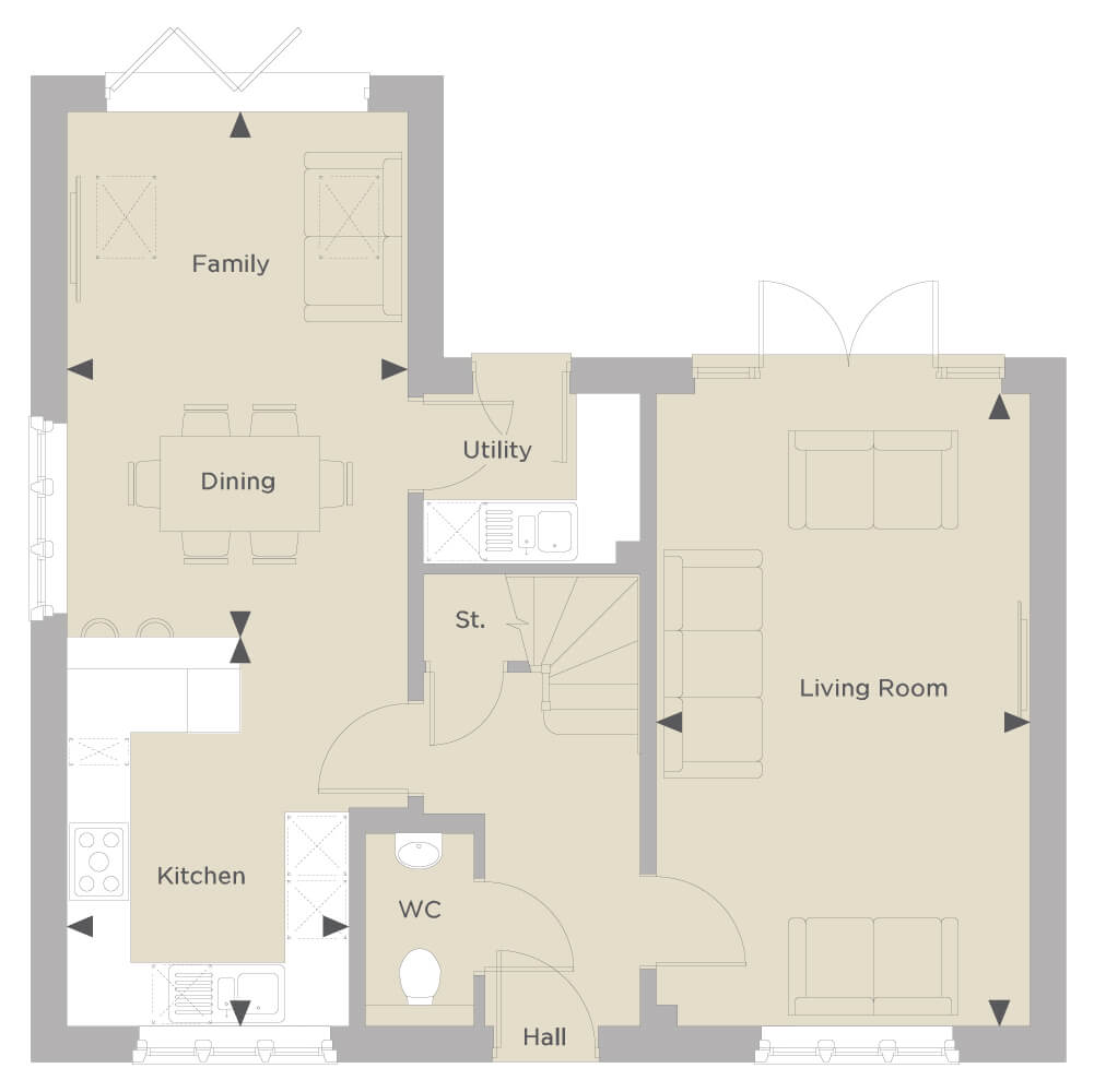 The Honeybourne Ground Floor