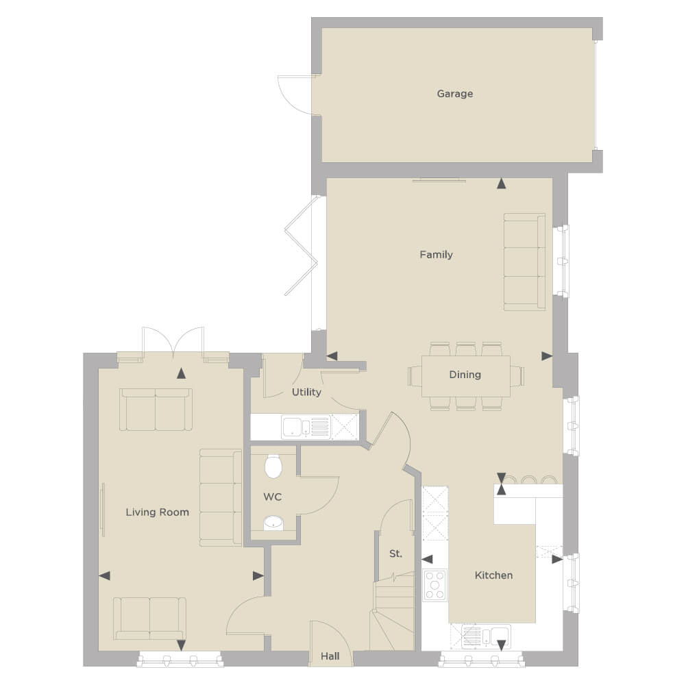 The Mickleton Ground Floor