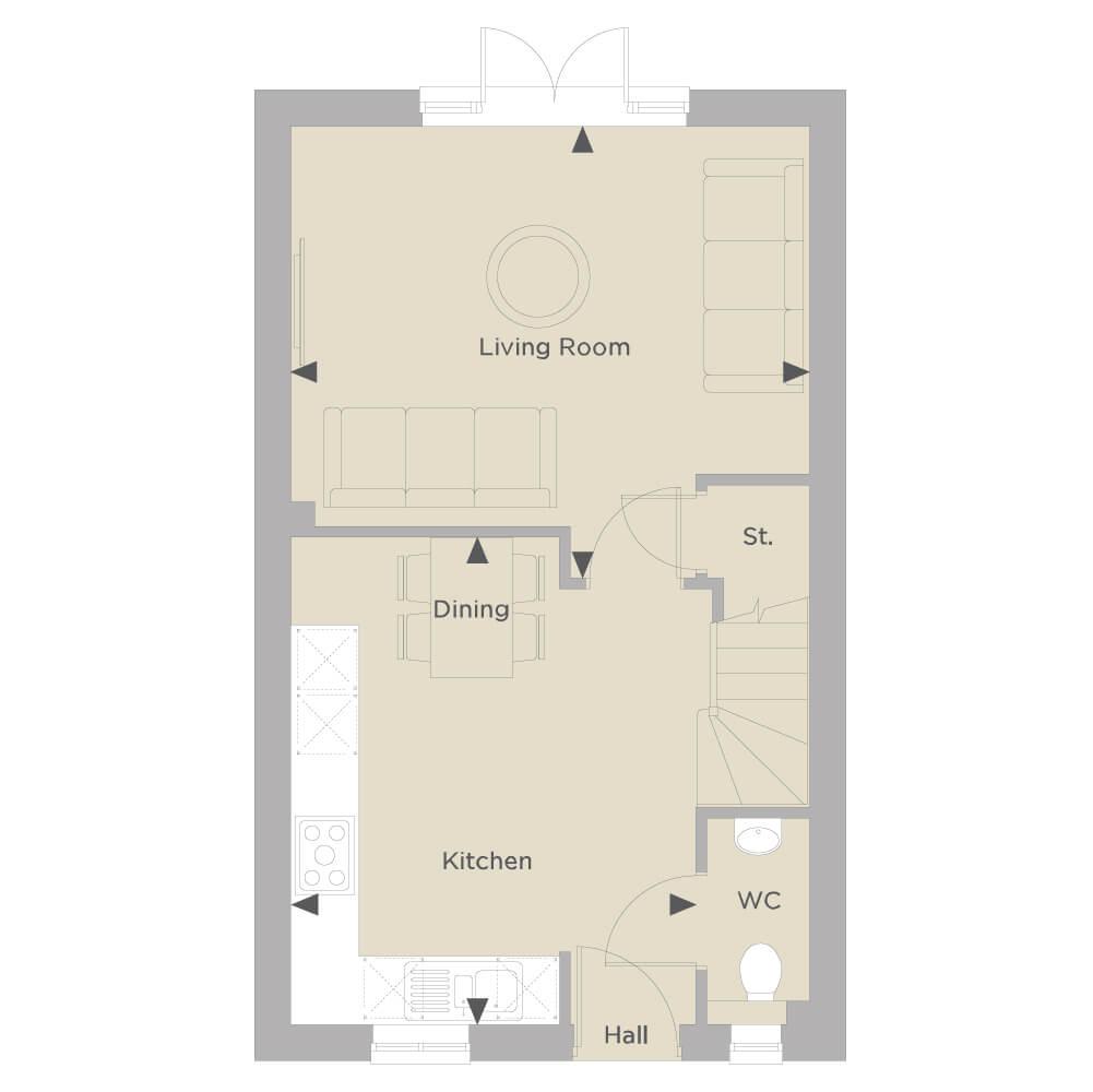 The Stow Ground Floor