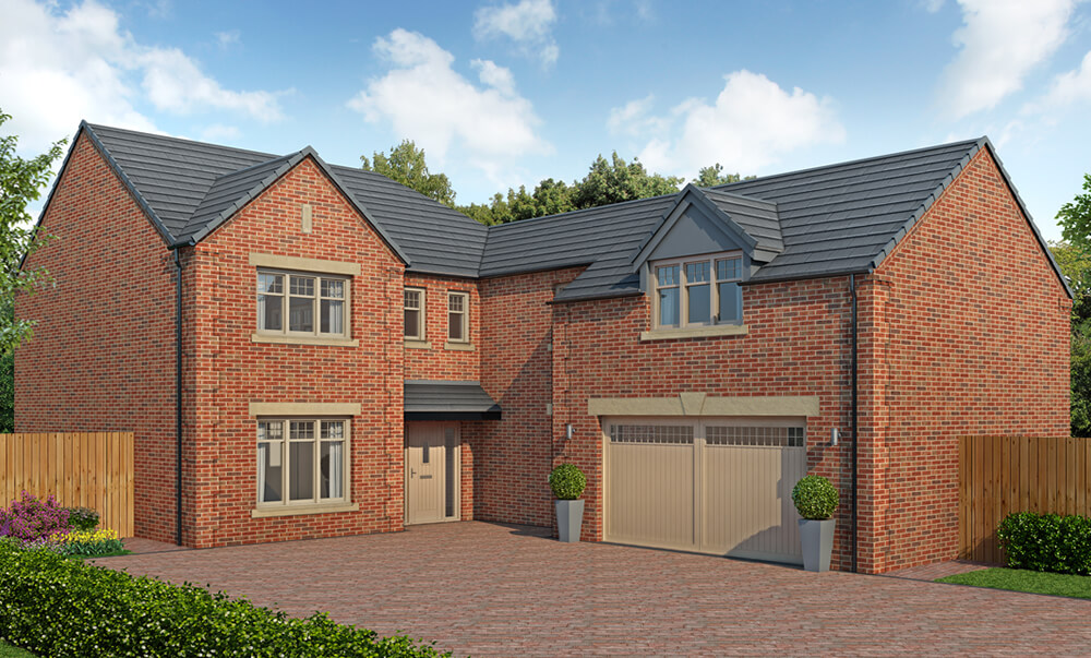 The Buckingham - 5 Bedroom {id=1, name='Detached House', order=0}