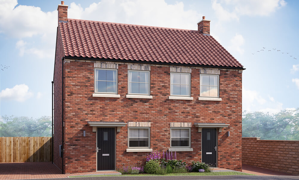 The Dunsmore - 2 Bedroom {id=2, name='Semi-Detached House', order=2}