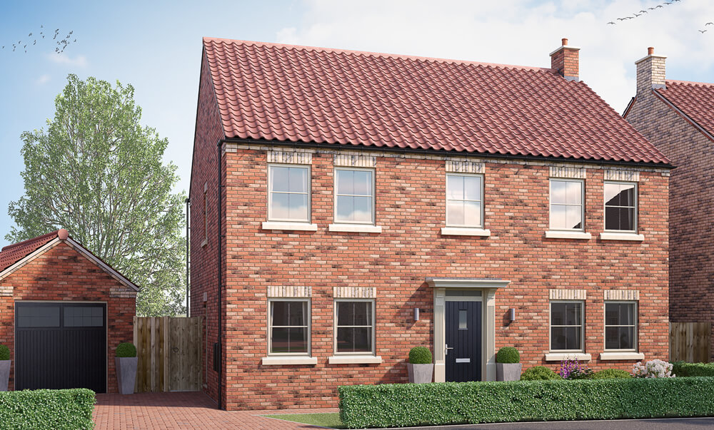 The Howard - 4 Bedroom {id=1, name='Detached House', order=1}
