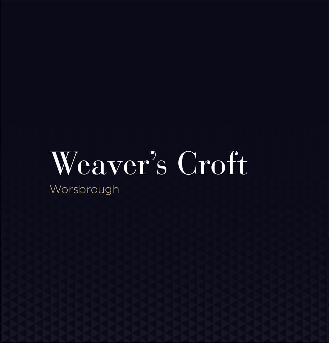 Weavers Croft, Worsbrough